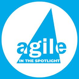Agile in the Spotlight Logo