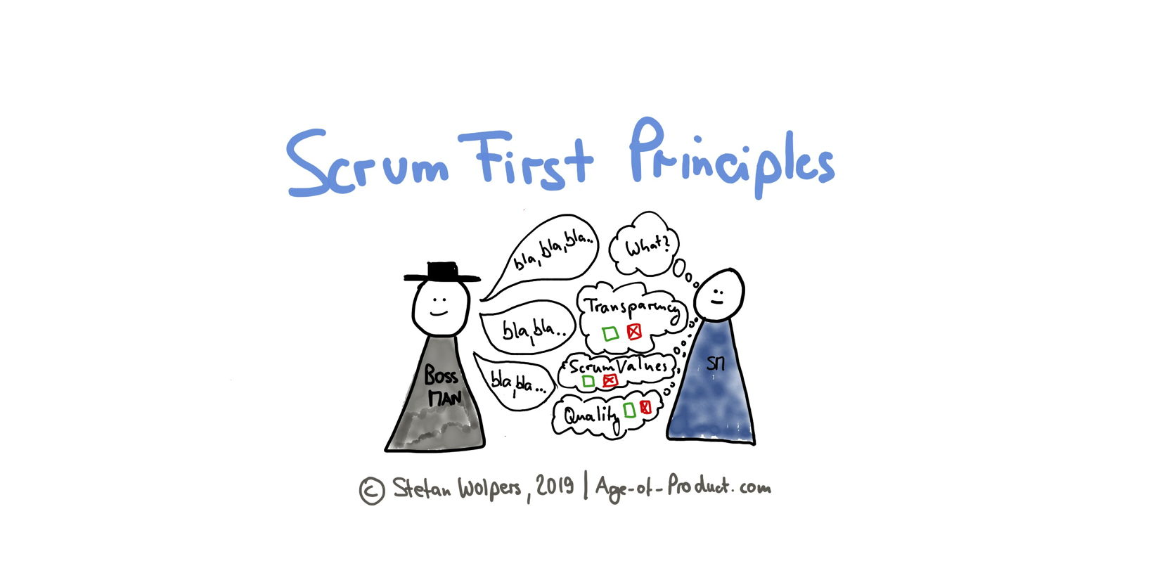Scrum First Principles: Stakeholder talks to Scrum Master