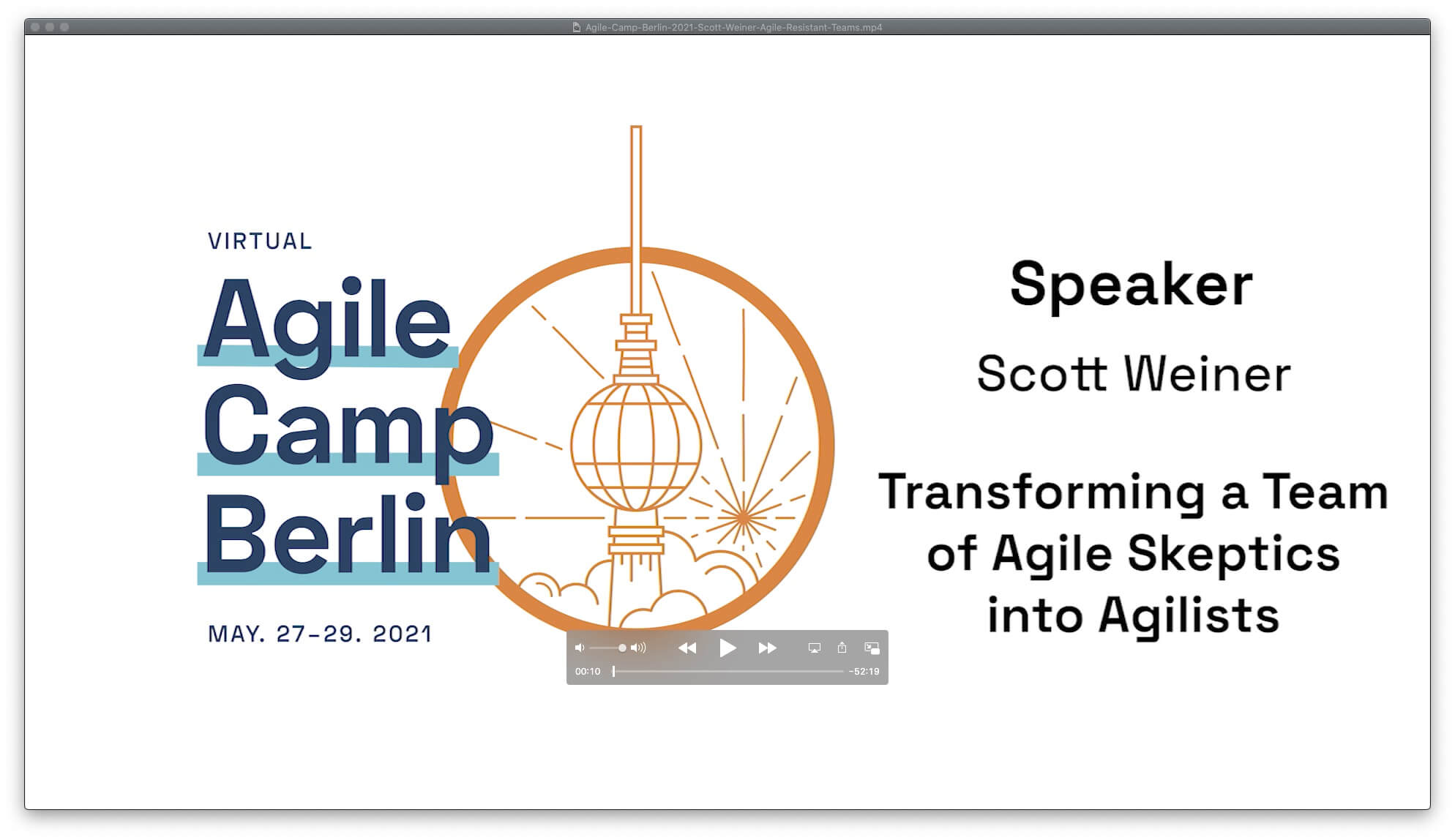 How to Win with Agile Resistant Teams — Agile Camp Berlin 2021