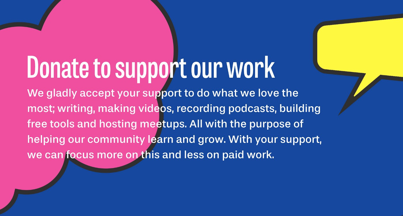 Click here to learn more about how you can support our work