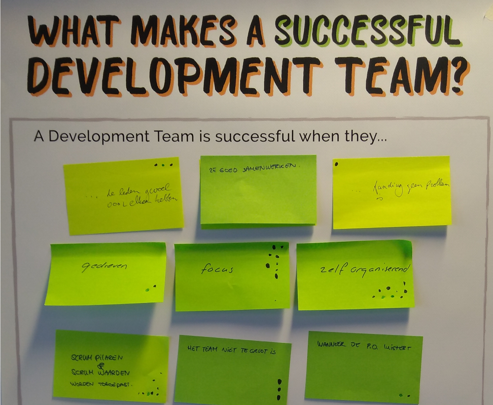 If Developers are so important to the success of Agile transformations, it is important to wonder what your Developers need in order to be more successful. Picture by Christiaan Verwijs.