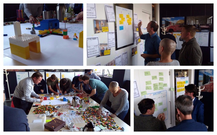 Even something as trivial as playing a Scrum LEGO exercise with your team can already build shared models about how you collaborate and distribute work