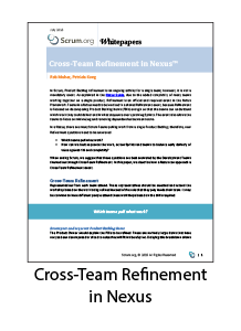 Cross-Team Refinement in Nexus Whitepaper