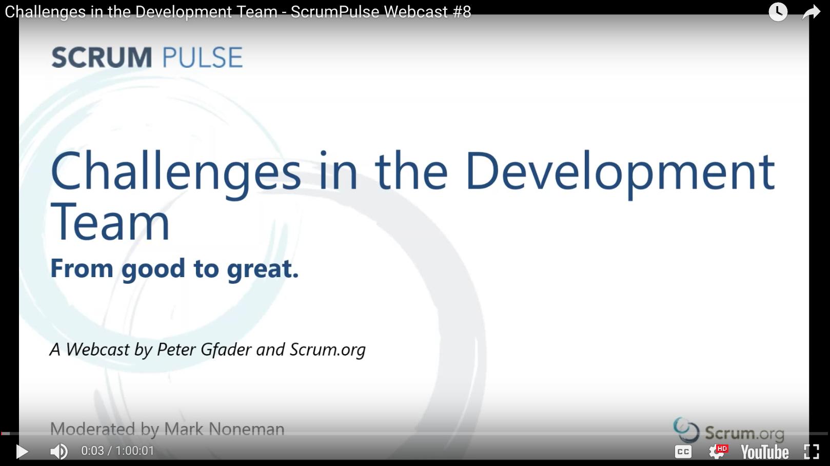 Challenges in the Development Team