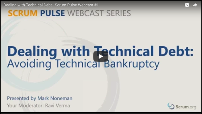 Dealing with Technical Debt