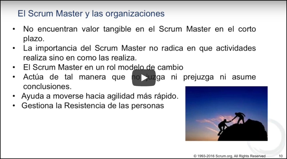 Role of a Scrum Master