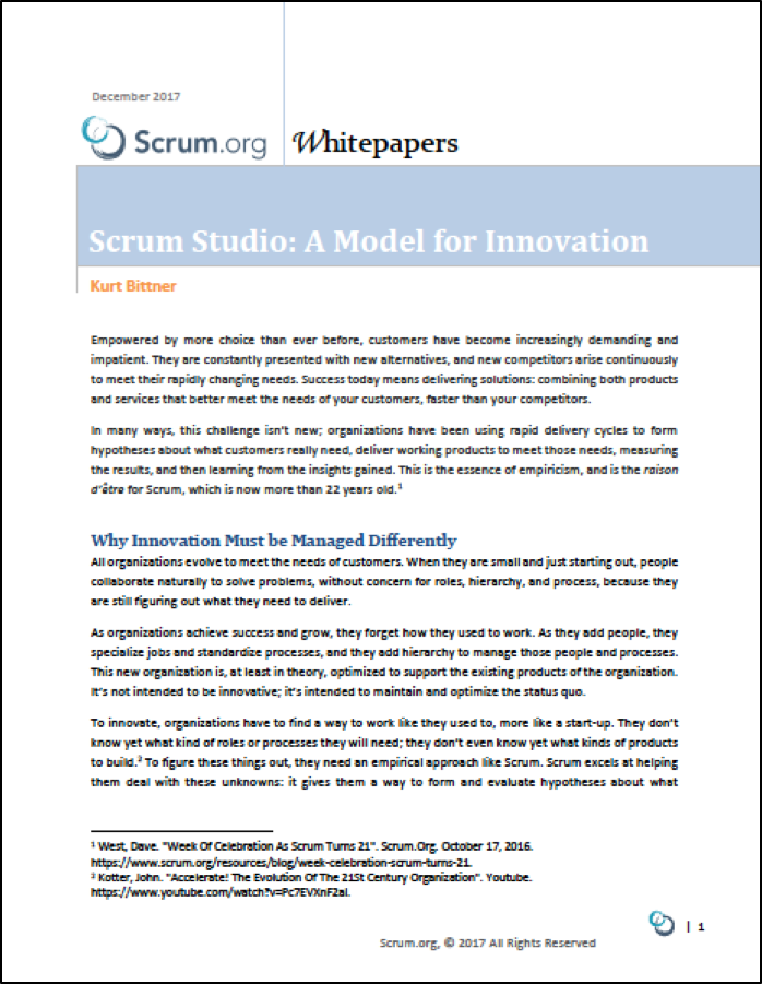 Scrum Studio