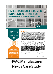 HVAC Manufacturer Implements Nexus