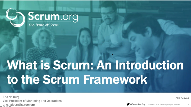 """What is Scrum"""