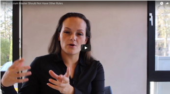 Why Scrum Masters Shouldn't Have Other Roles Video