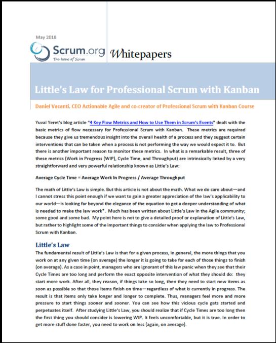 Little's Law thumbnail