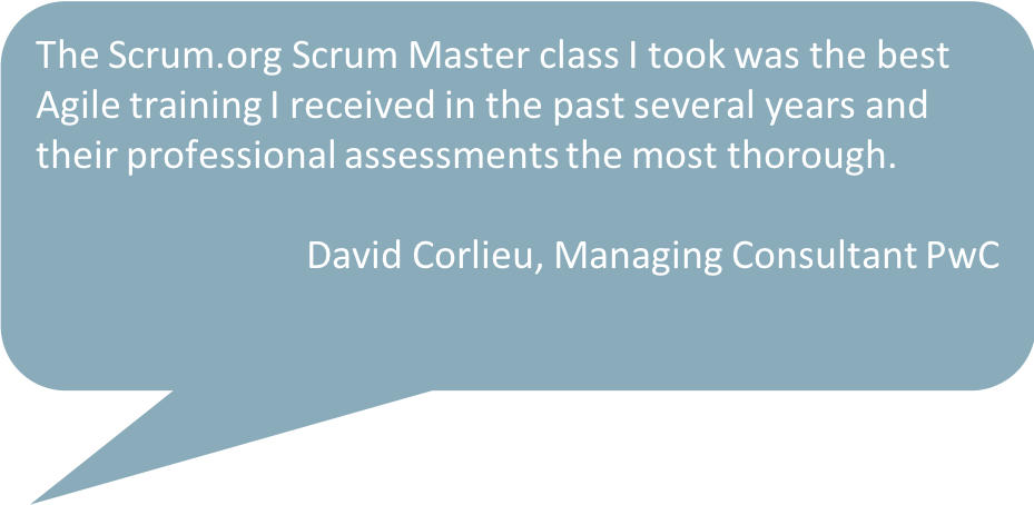 scrum master training from the home of scrum
