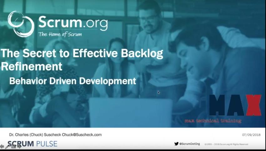 The Secret to Effective Backlog Refinement - Behavior Driven Development