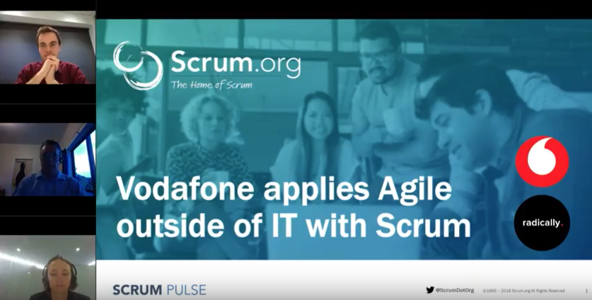 """Vodafone Applies Agile"""