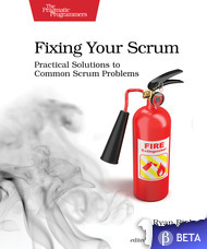Fixing your scrum book cover