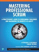 Masterining Professional Scrum Book Cover