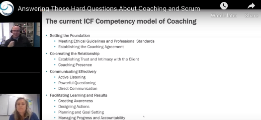 """Scrum and Coaching"""