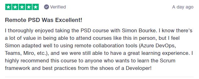 PSD feedback