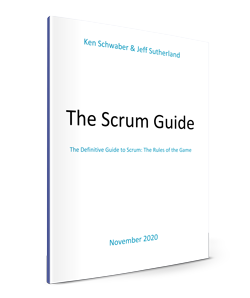 Scrum Guide Cover