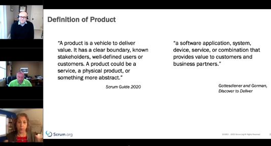 """Product webinar"""