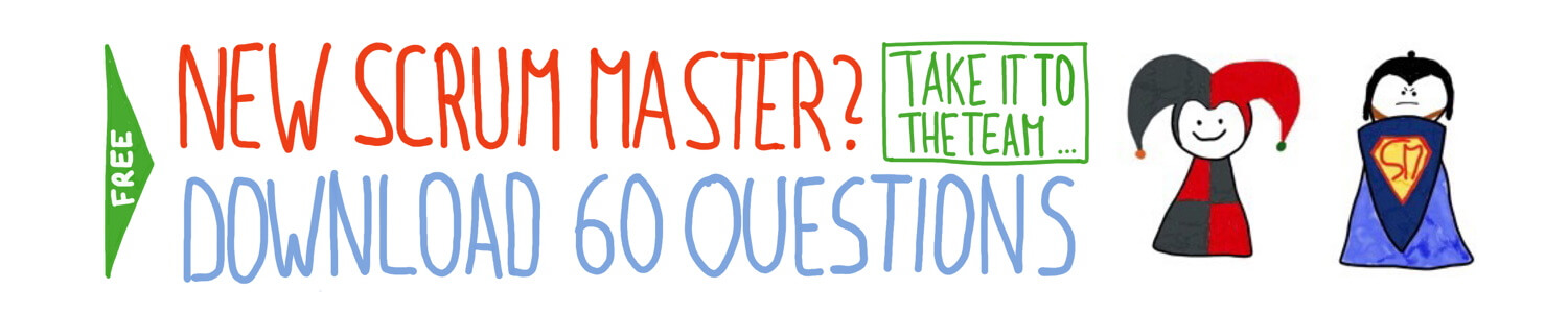 Download the 60 Questions for the New Scrum Master Questionnaire