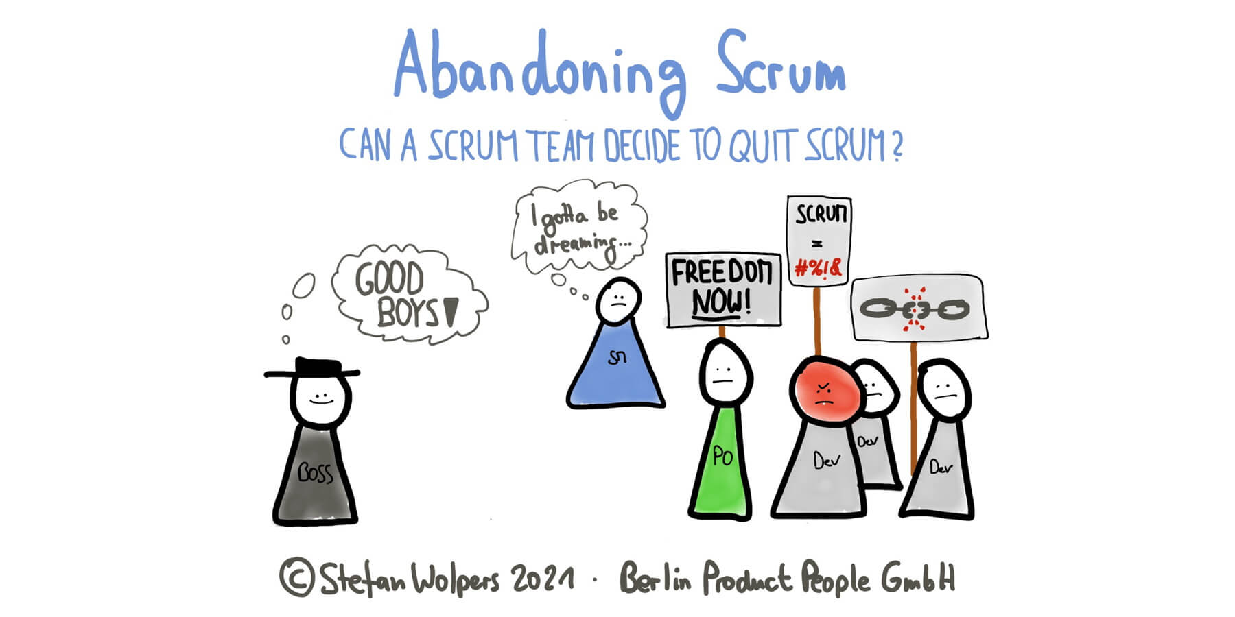 Abandoning Scrum: Can a Scrum Team Decide to Quit Scrum?