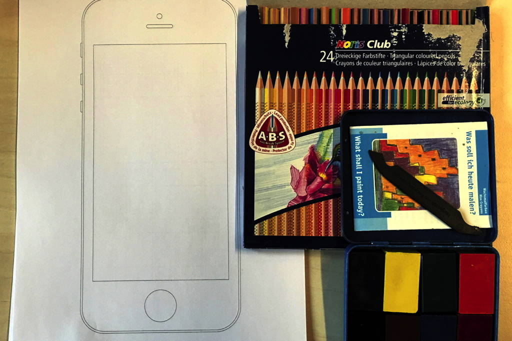 App Prototyping with Absolute Beginners – Drawing Utensils