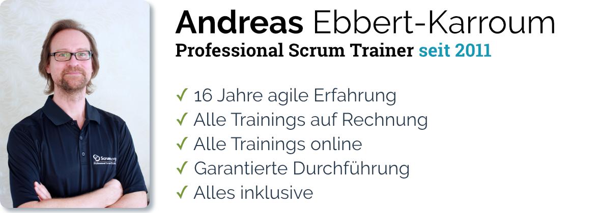 Andreas Ebbert-Karroum – Professional Scrum Trainer since 2011