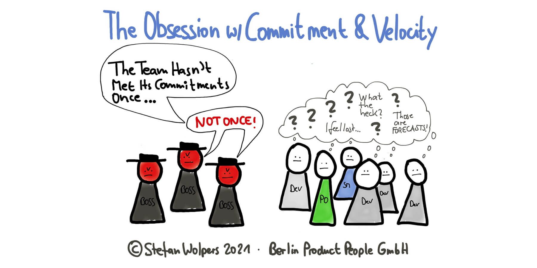 Scrum: The Obsession with Commitment Matching Velocity