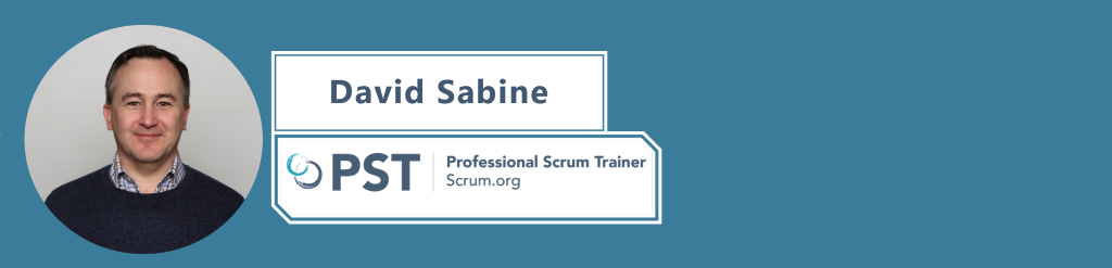 David Sabine Portrait, Professional Scrum Trainer