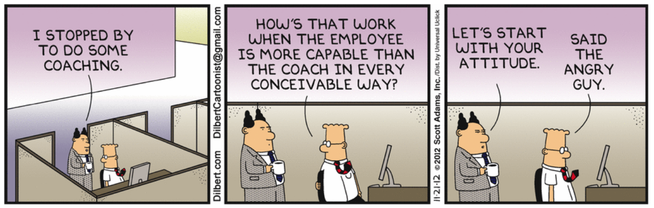 Dilbert Coaching