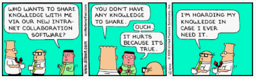 Collaboration from Dilbert