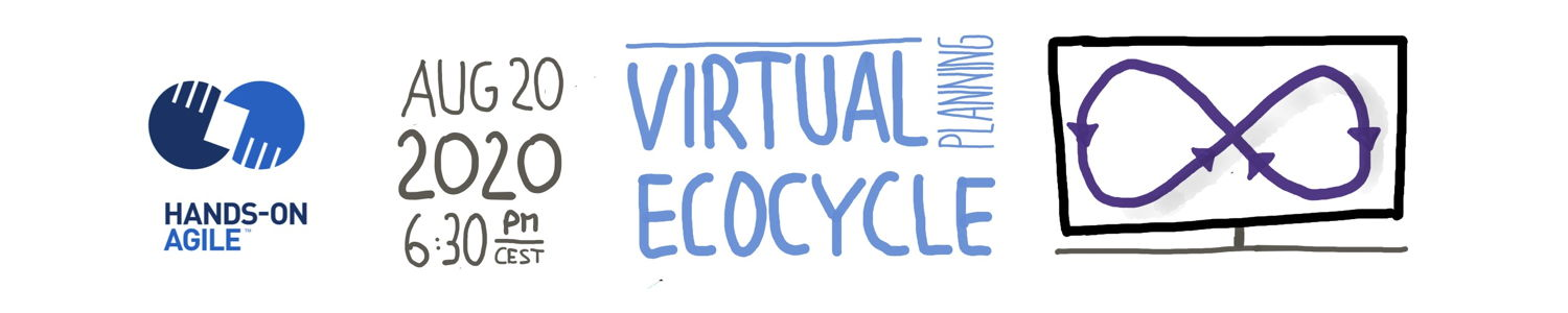 Hands-on Agile #25: Virtual Ecocyle Planning with Mural