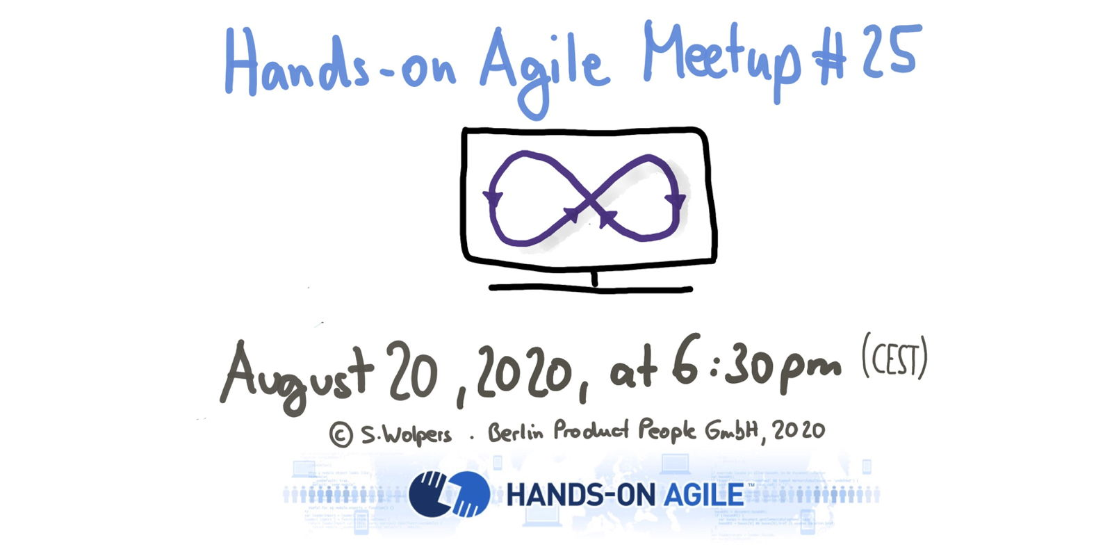 📅 🖥 Virtual Ecocycle Planning on August 20, 2020, at the #25 Hands-on Agile