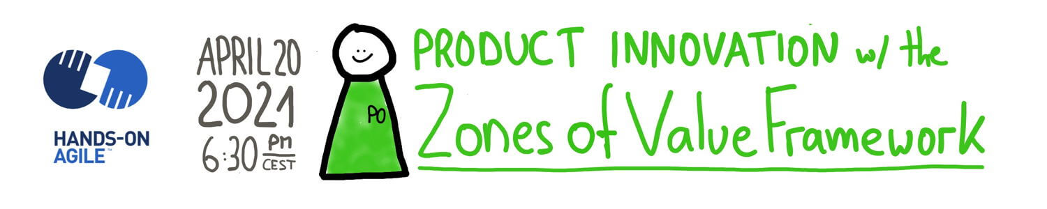 Hands-on Agile #31: Drive Product Innovation with the Zones of Value Framework
