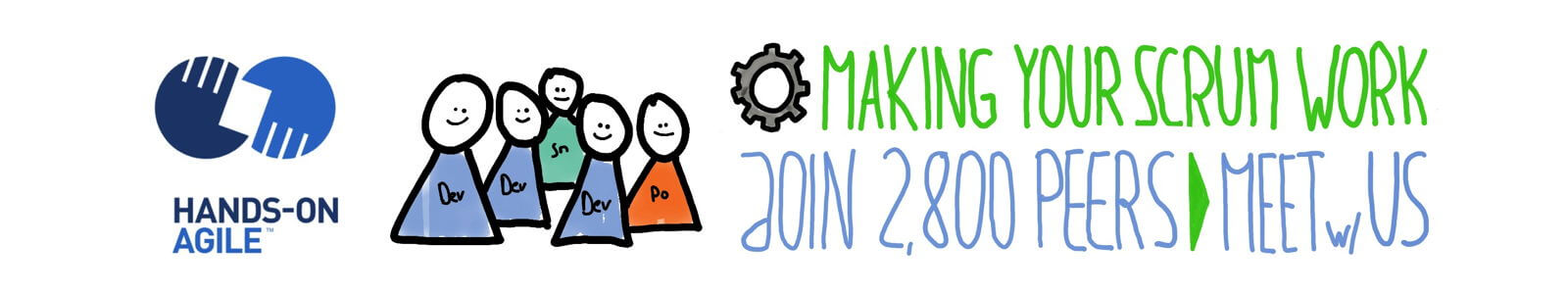 Join the 2,800-plus Strong 'Hands-on Agile' Meetup Community