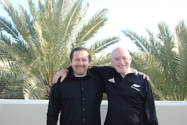 Joe Krebs and Ken Schwaber during a Scrum Power Pack in Miami 2012
