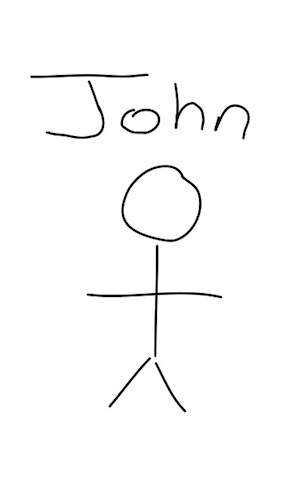 this is John