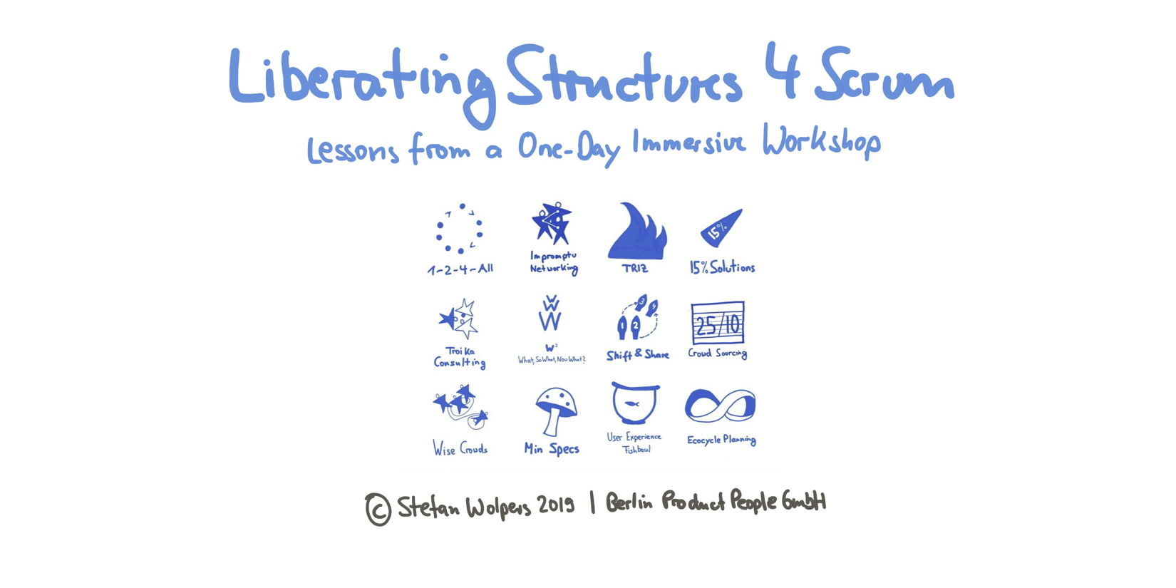 Liberating Structures 4 Scrum: Lessons from a One-Day Immersive Workshop — Berlin Product People GmbH