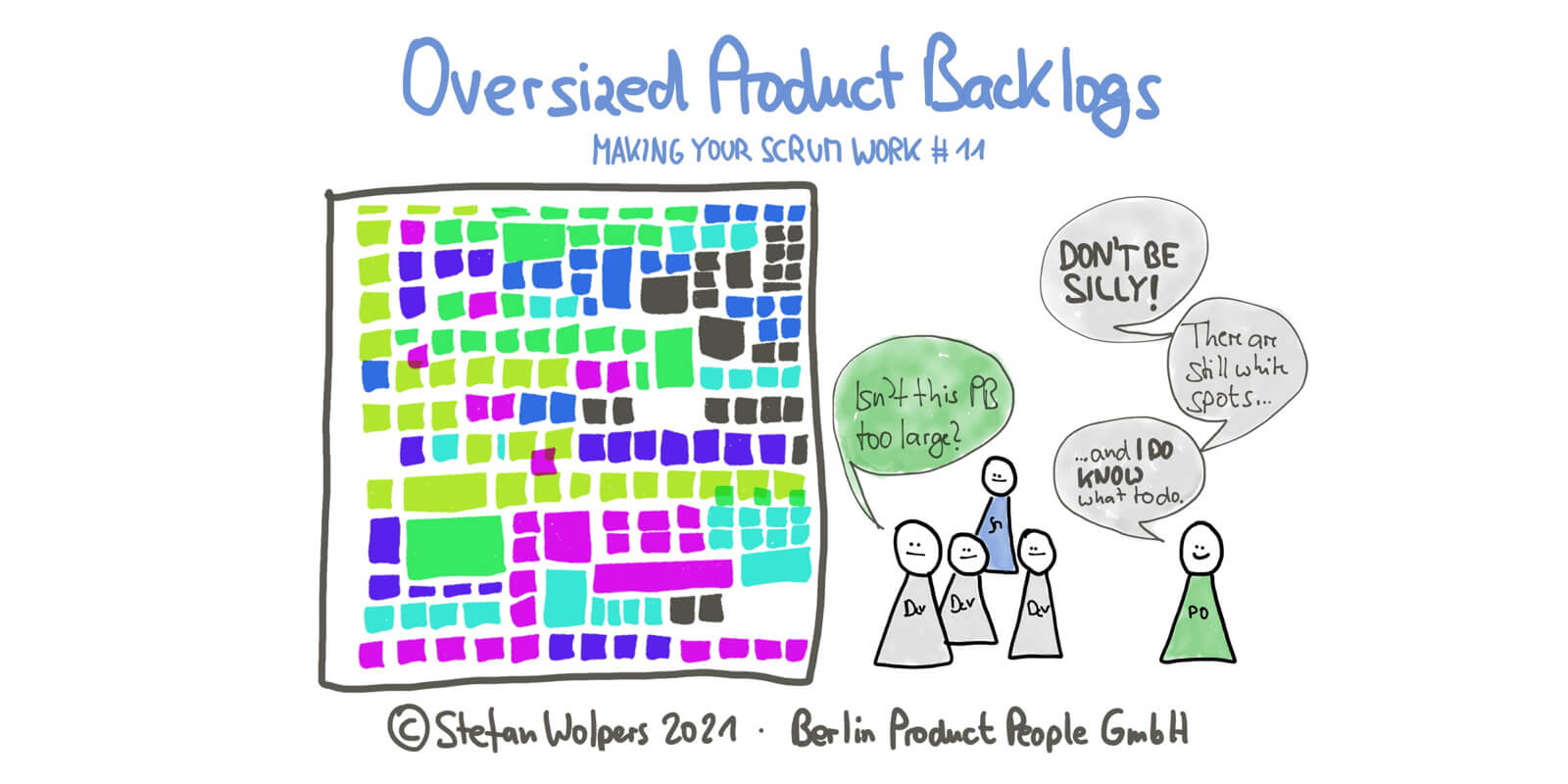The Oversized Product Backlog Will Cost You Dearly — Making Your Scrum Work #11