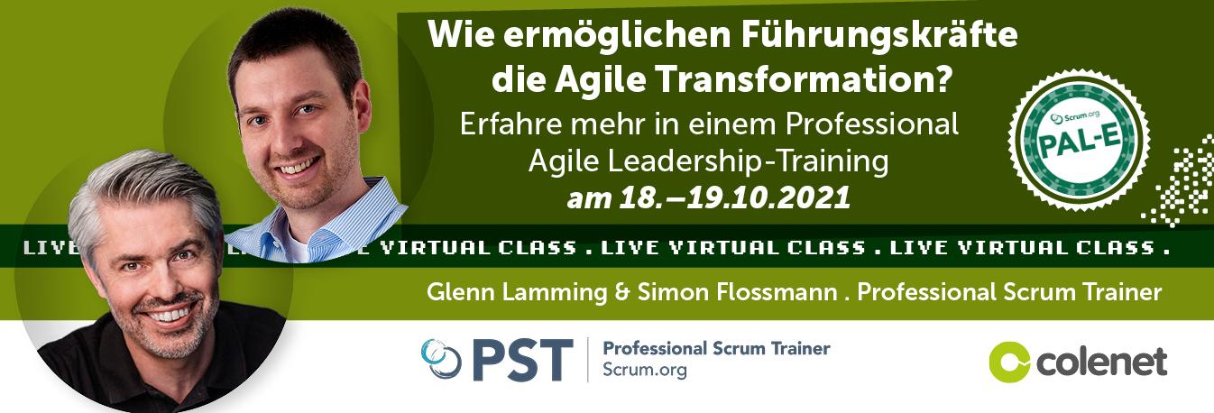 Professional Agile Leadership Simon Flossmann