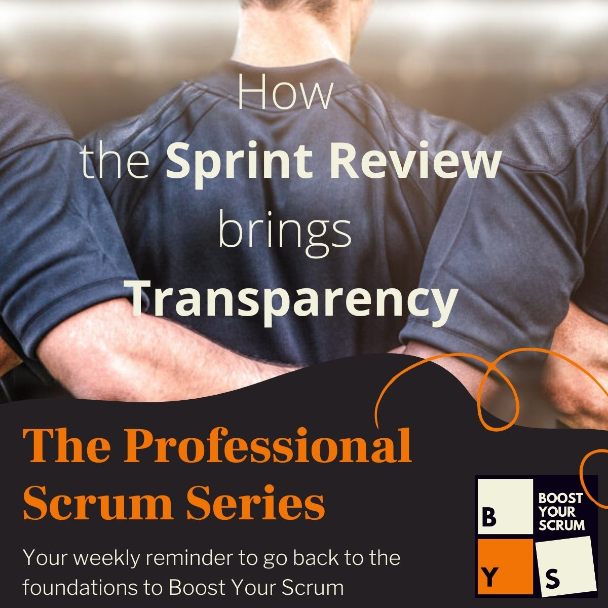 The Sprint Review does bring Transparency