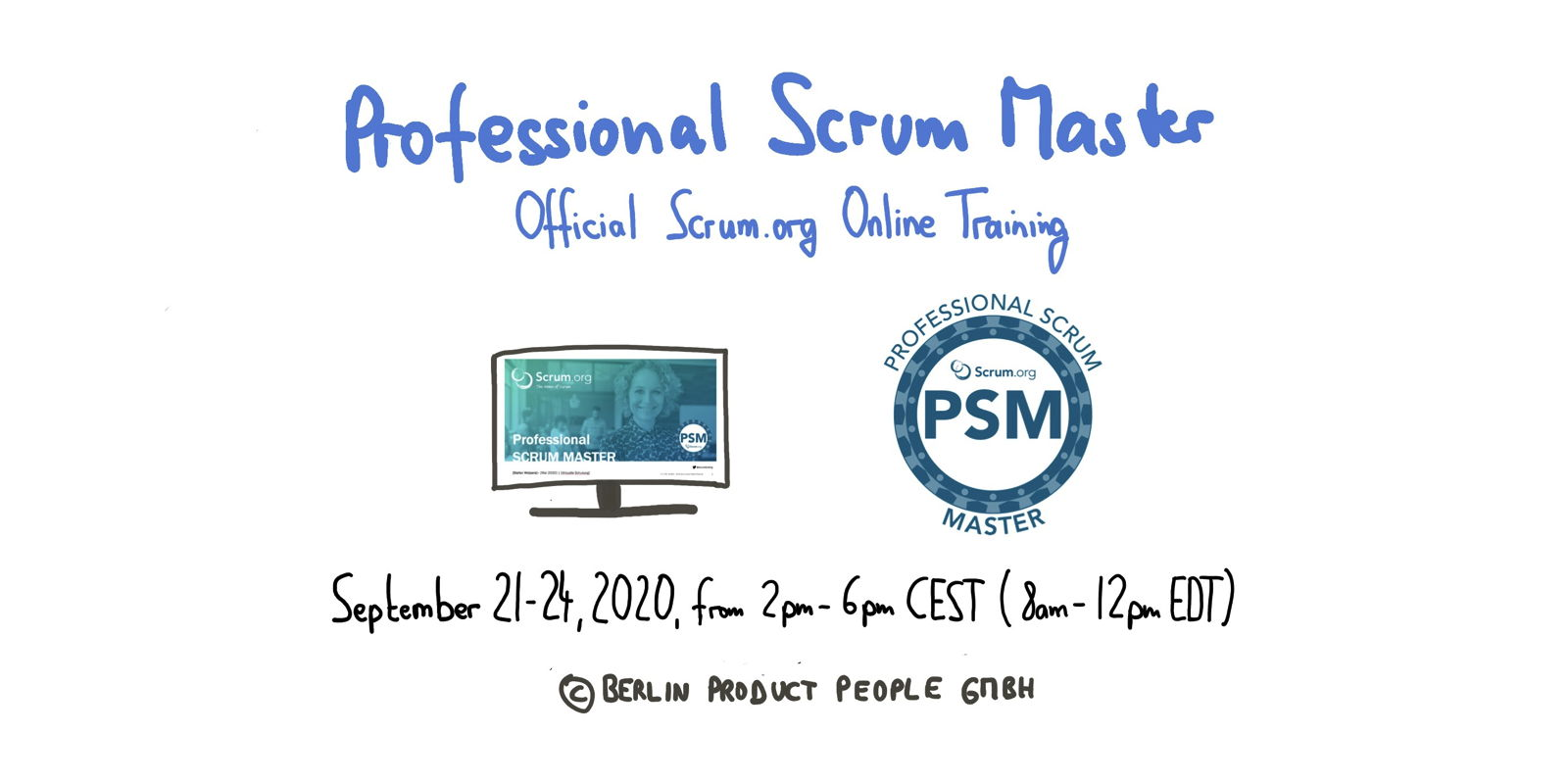 Professional Scrum Master Online Training PSM I — Berlin Product People GmbH