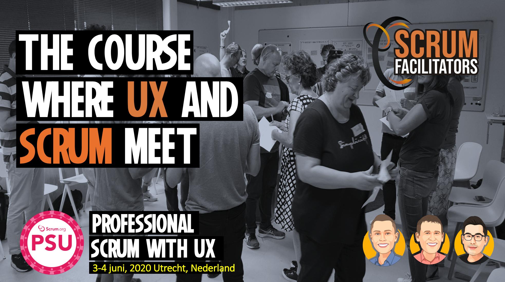 PSU where Scrum and UX meet