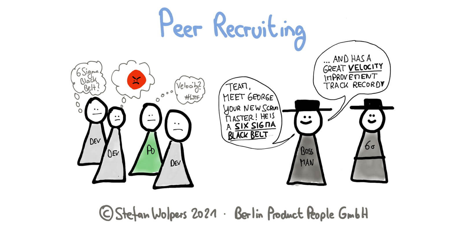 Peer Recruiting: How to Hire a Scrum Master in Agile Times
