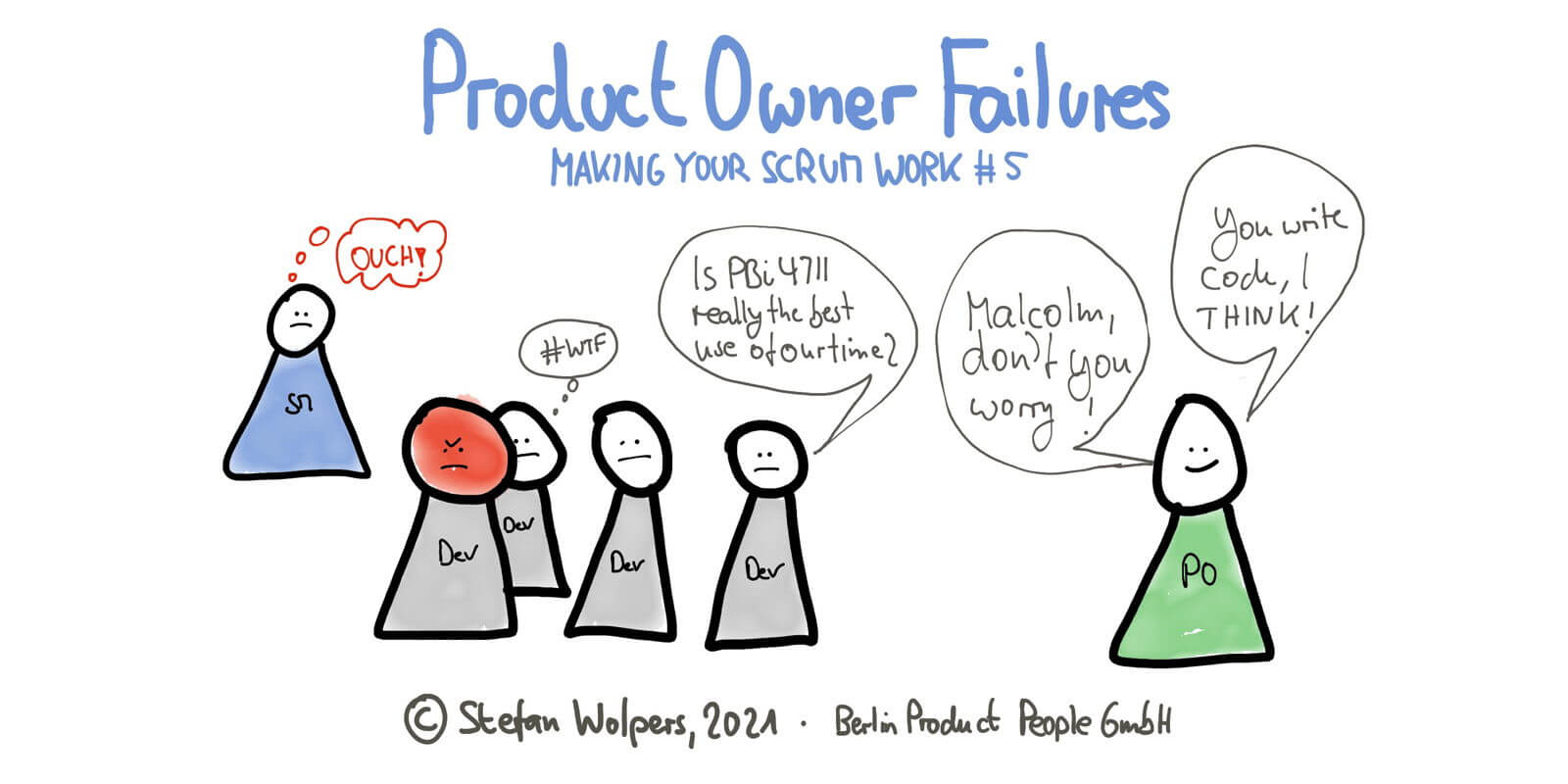 Three Wide-Spread Product Owner Failures in 6:09 Minutes—Making Your Scrum Work #5
