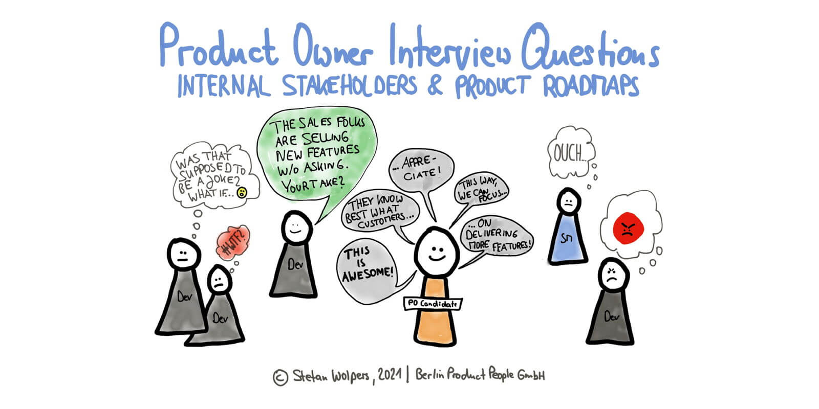 Download '71 Scrum Product Owner Interview Questions to Avoid Hiring Agile Imposters'