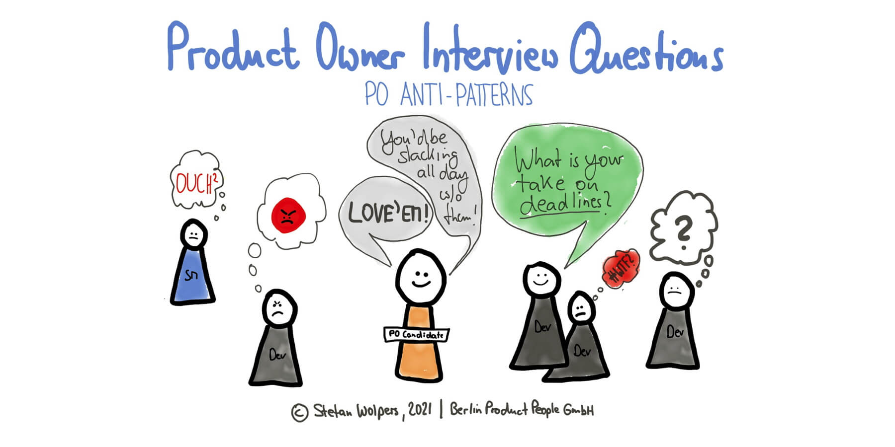 Product Owner Interview Questions: PO Anti-Patterns