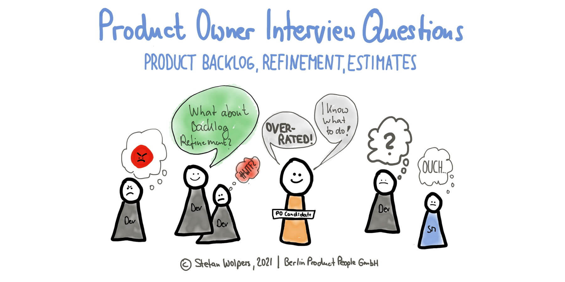 Product Owner Interview Questions — The Product Backlog and Refinement