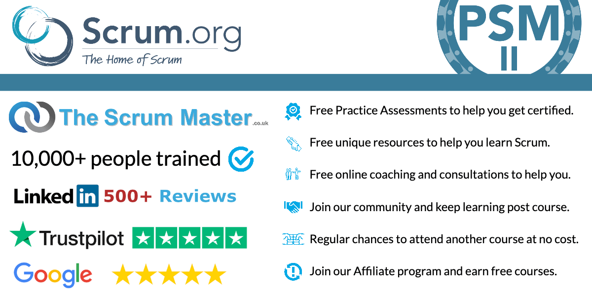 TheScrumMaster.co.uk PSMII